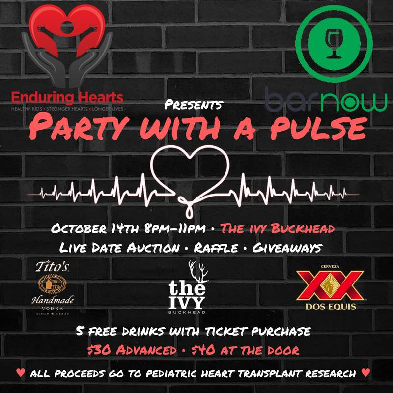 Party with a Pulse | Enduring Hearts Event
